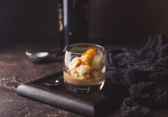 Ice cream with liqueur: which are the most used?