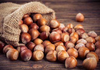 The properties of hazelnuts